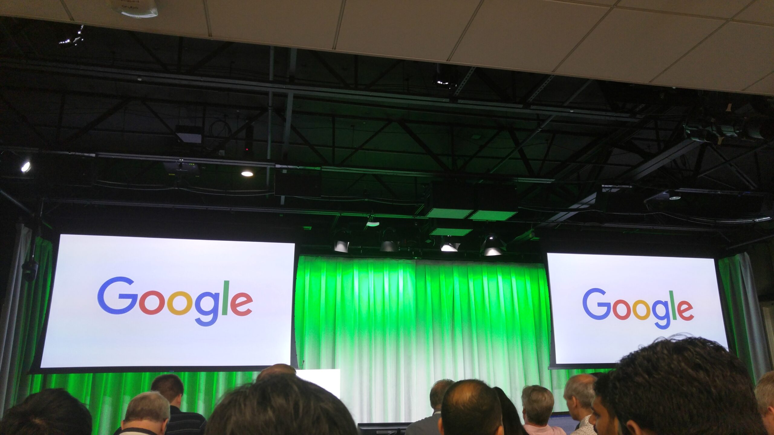 Attending Google sessions