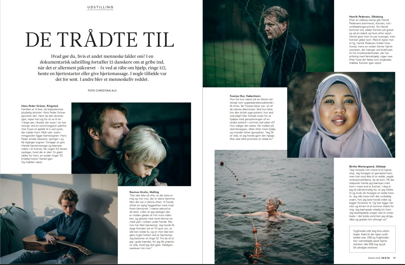The project published in Ud & Se magazine