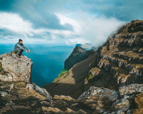 Cape Enniberg, Faroe Islands