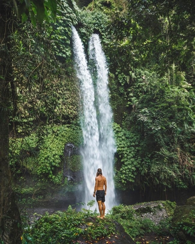 Sendang Gile waterfall, Lombok