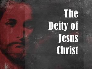 the-deity-of-jesus