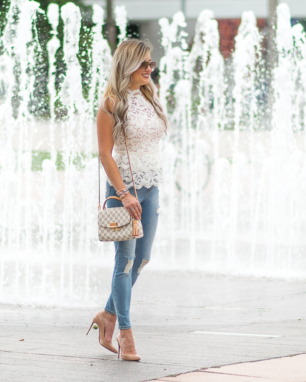 ripped denim christian louboutin pigalle