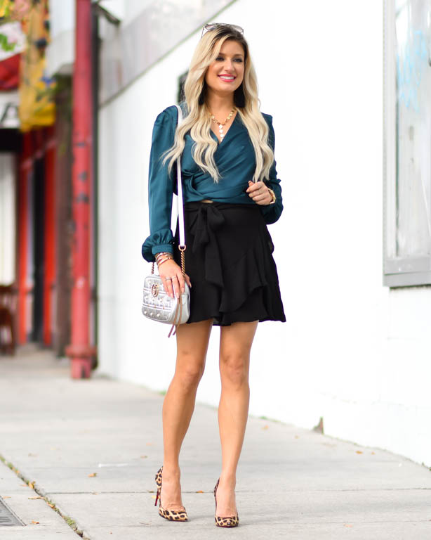 fit flare skirt