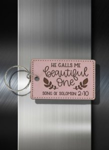 Key ring He Calls Me Beautiful One Song of Solomon 2 10