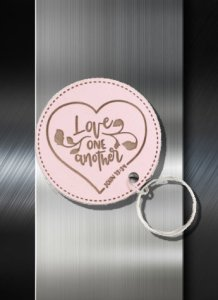 Key ring Love One Another John 13 34