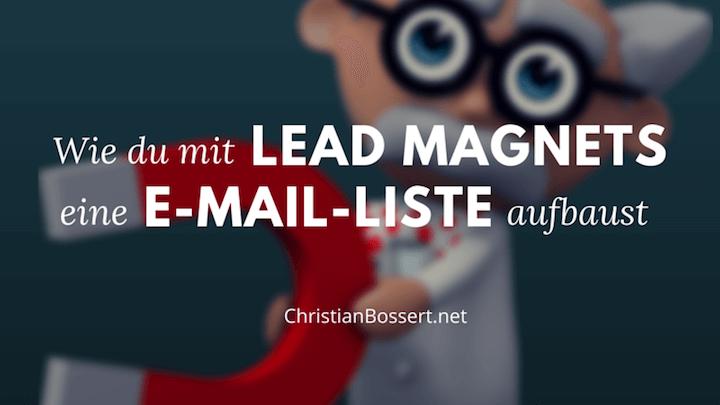 Verdopple deine E-Mail-Liste mit einem Lead Magnet
