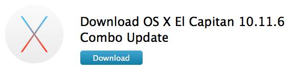 10.11.6 Combo Update