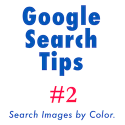 Google Search Tips: search images by color