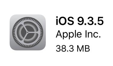iOS 9.3.5 icon