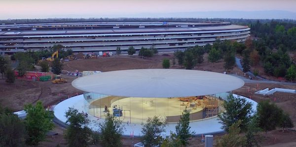 Apple Park drone video courtesy of 9to5Mac.com