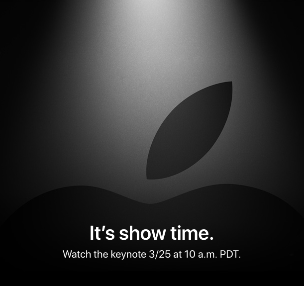 Apple Event March 25th 2019