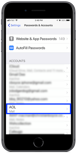 Fix AOL Mail on iPhone and iPad