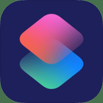 Shortcuts App icon in iOS 14
