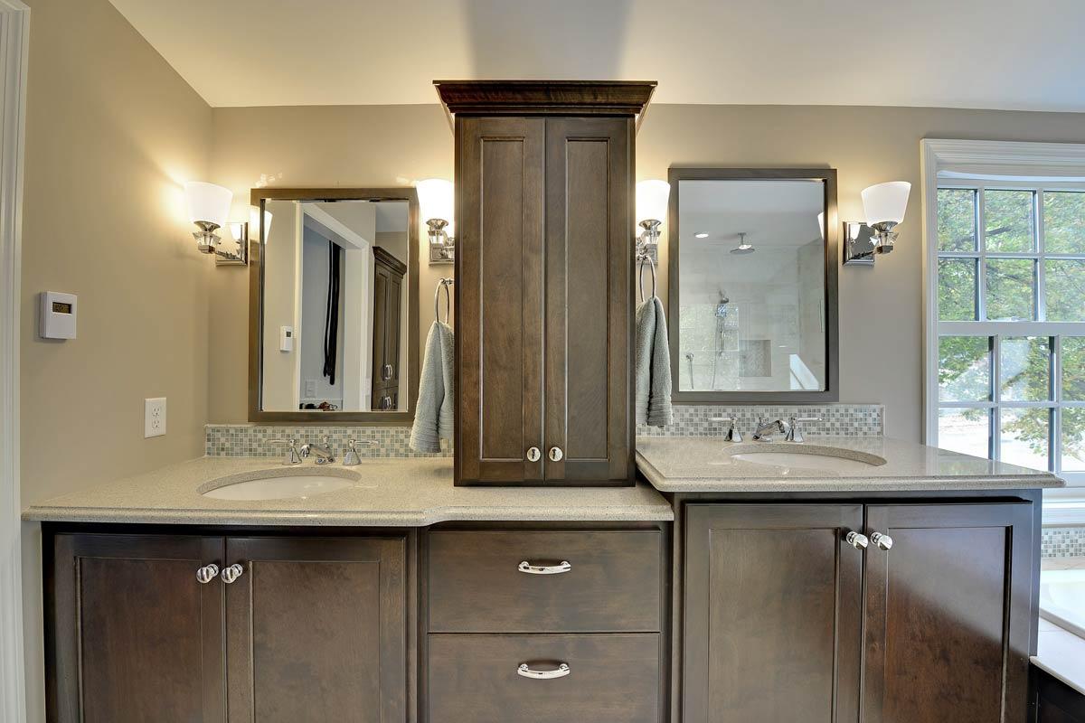 Custom Bathroom Cabinets MN