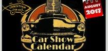 Car Show Calendar August 2017