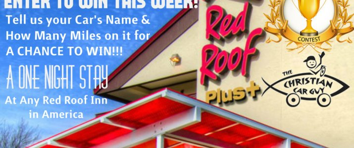 Enter To Win!!! A Free Overnight Stay AT Any Red Roof Inn in America