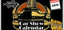 Car Show Calendar January 2019