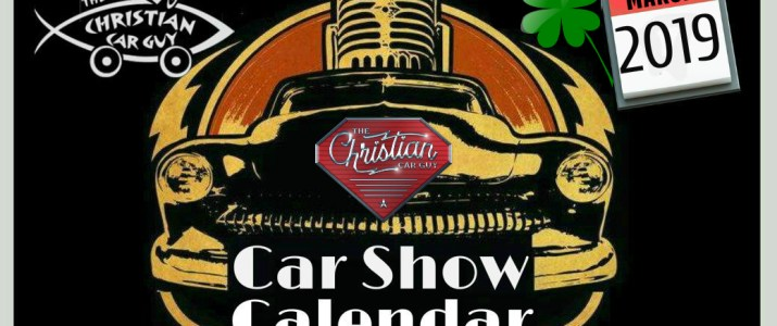 Car Show Calendar March 2019
