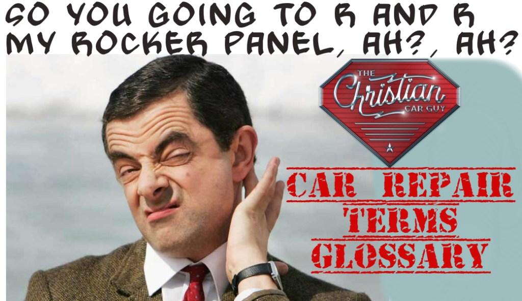 Car Repair Terms Glossary