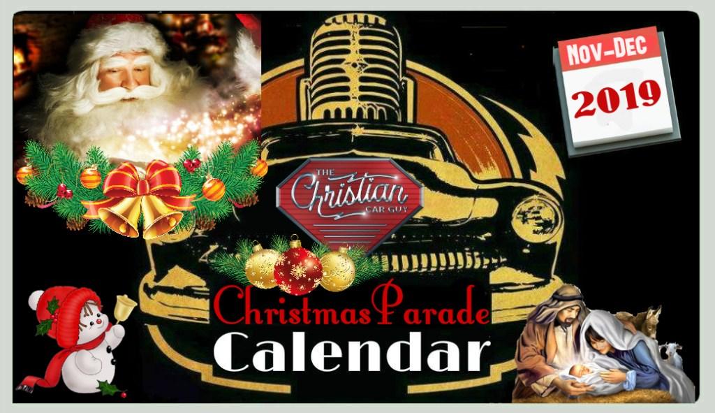 Christmas Parade Calendar 2019