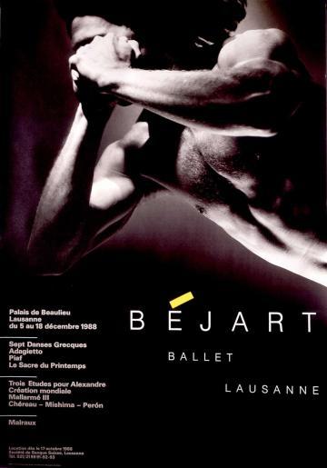 ballet béjart by christian coigny