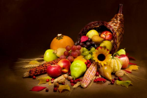 Thanksgiving Horn of Plenty