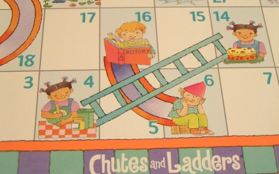 The Divorce Journey Can Resemble the  Game of Chutes and Ladders