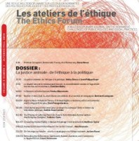 Ateliers ethique justice animale cover