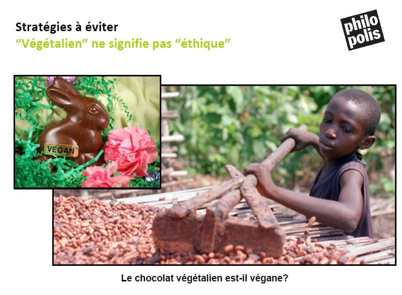 chocolat vegane