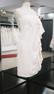 Clarisse, wedding dress in Ottawa in a size 6. Price: $125