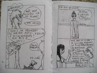 quadrinhos 7ºB 8