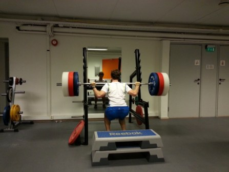 Tim the strongman