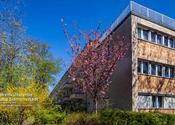 """UNESCO World Heritage Site """"Ringsiedlung Siemensstadt"""", Walter Gropius"""