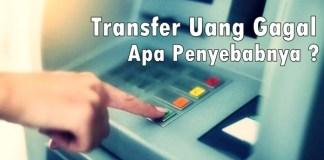 Transfer ATM Gagal