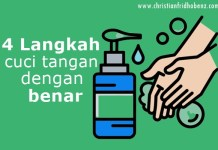 4 langkah cuci tangan dengan benar
