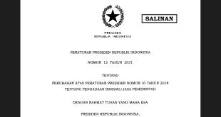 perpres12 2021