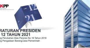 perpres 12 tahun 2021