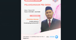 workshop online pengadaan desa