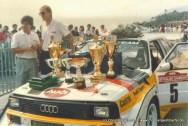 09/1985 AUDI Rallye San Remo Sieg