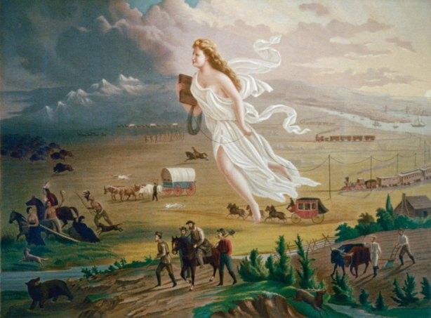"""American Progress"" John Gast 1872"