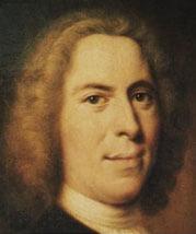 Nikolaus Ludwig von Zinzendorf portrait by Balthasar Denner
