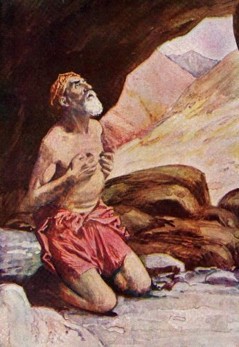 Out Cave Comes Elijah