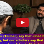 An interview with a Taliban Trained Suicide Bomber