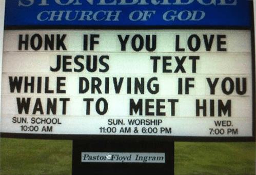 Christian jokes about love