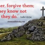 Divine Forgiveness cross