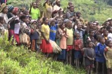 Kimyal Tribe receives the Bible for the First Time