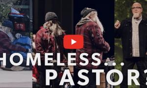 Homeless Pastor play button