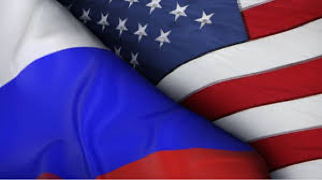 russia usa flags