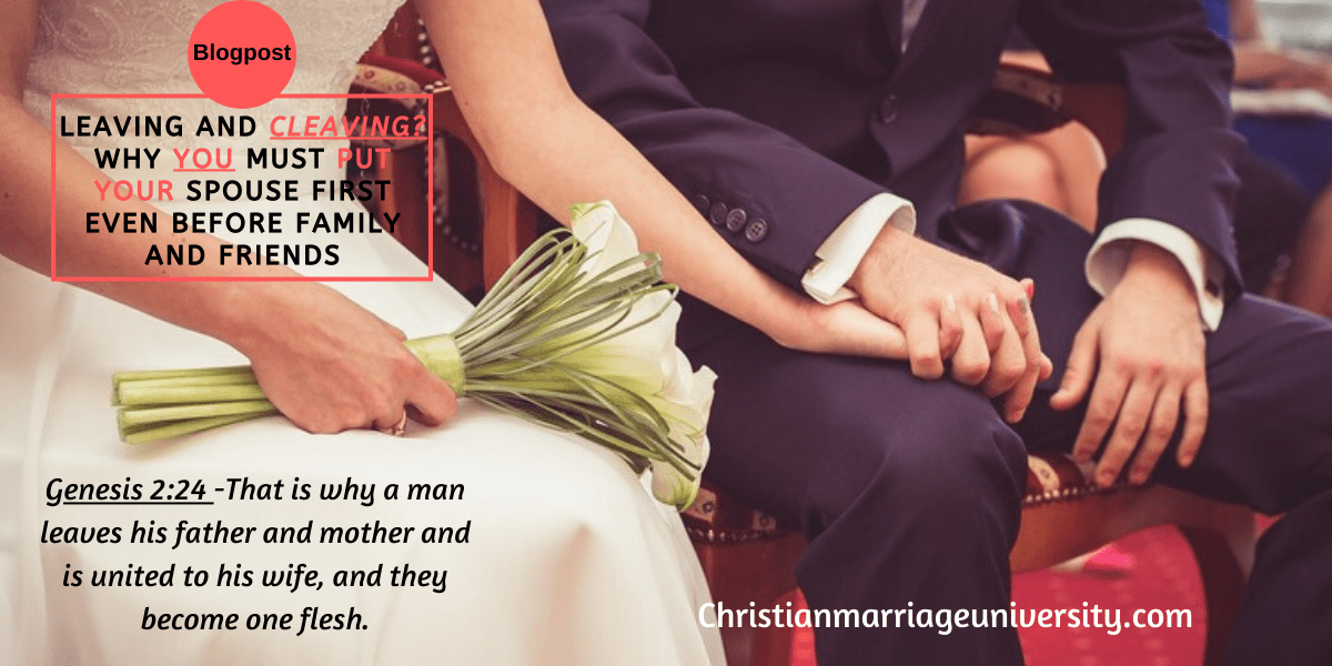 Why putting your spouse first is so important