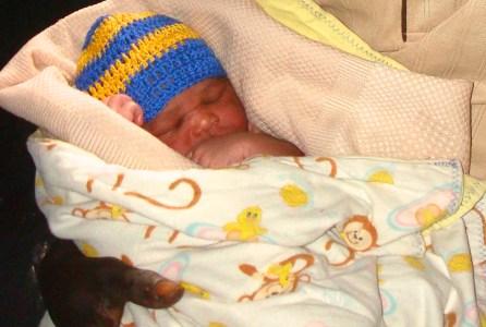 Baby Thomas (son of Grace!)